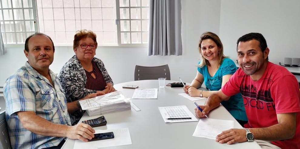 Reunião com membros do Conselho Fiscal