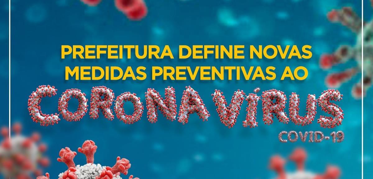 Novo decreto para população piracaiense com medidas de enfrentamento ao coronavírus (Covid-19)