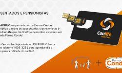 PIRAPREV em parceria com a Farma Conde