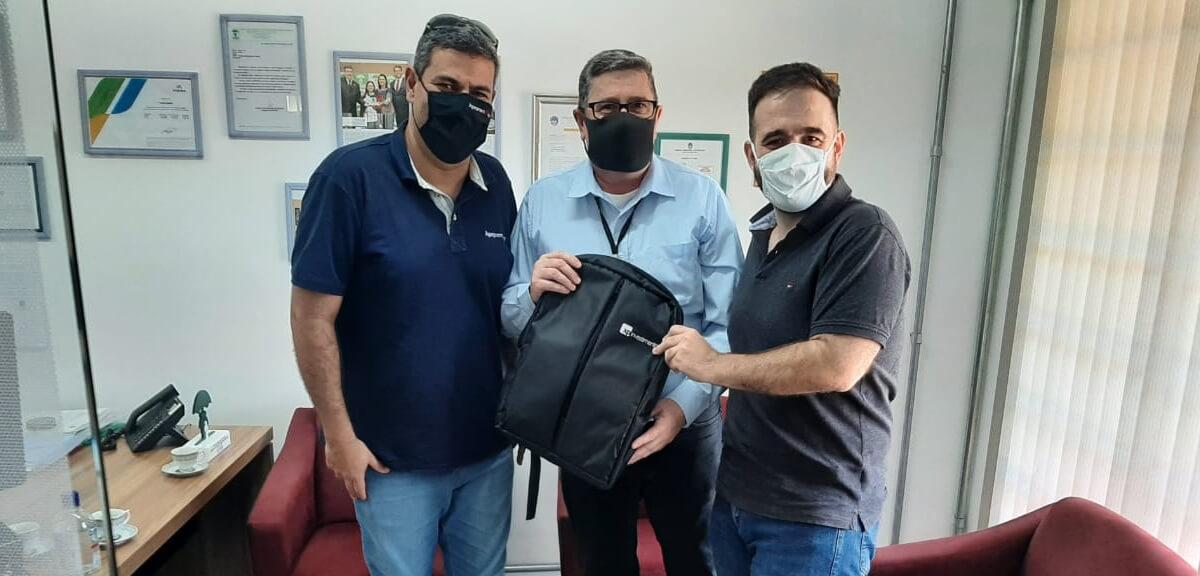 Visita do Presidente da APEPREM Associação Paulista das Entidades de Previdência do Estado e dos Municípios