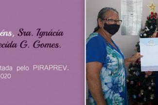 Aposentadoria da Sra. Ignácia Aparecida Gonçalves Gomes